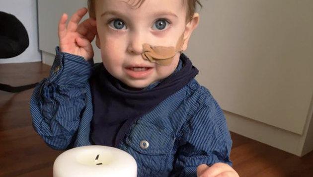 Der kleine Lukas ist das Sorgenkind der Familie D. (Bild: Privat)