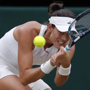 Garbine Muguruza triumphiert in Wimbledon (Bild: AFP)