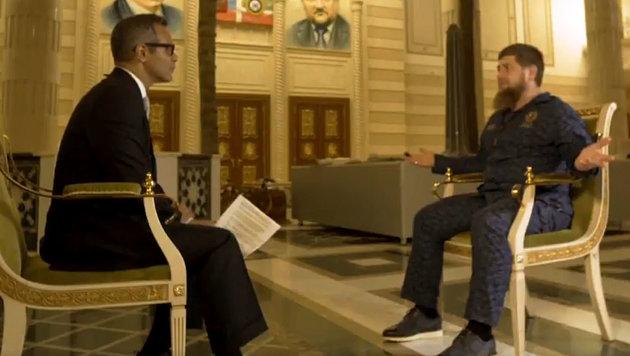 """Kadyrow: """"Werden die ganze Welt von hinten f***en"""" (Bild: HBO/Real Sports)"""