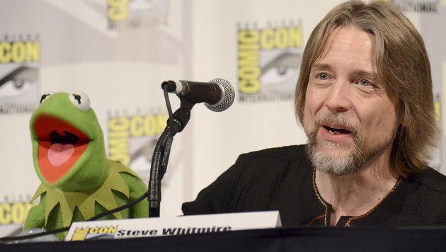 Jahrelang Kermits Stimme: Steve Whitmire (Bild: AP/Invision/Tonya Wise)