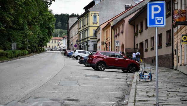 Ein Zeuge will den Wagen in Vyšší Brod in Tschechien gesehen haben. (Bild: Markus Wenzel)