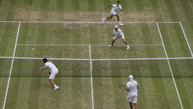 Dramatisch! Marach verliert episches Doppel-Finale (Bild: Associated Press)