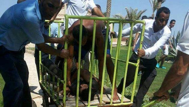 Das ist der Messermörder von Hurghada! (Bild: Reuters)