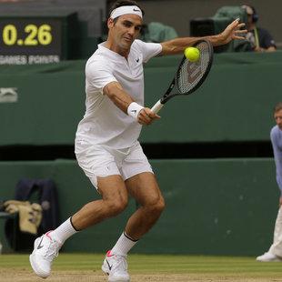 Historisch! Federer gewinnt Wimbledon zum 8. Mal! (Bild: Associated Press)