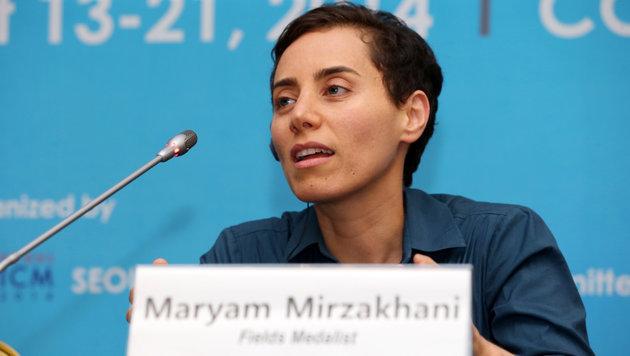 Maryam Mirzakhani wurde nur 40 Jahre alt. (Bild: AFP)