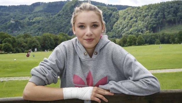 Die 15-jährige Laura bewies am Donnerstag Zivilcourage: Sie würde wieder helfen. (Bild: Markus Tschepp)