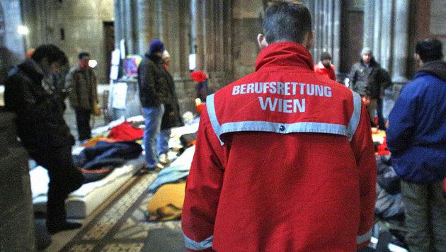 So will die Stadt Wien die Rettung retten (Bild: APA/GEORG HOCHMUTH (Symbolbild))