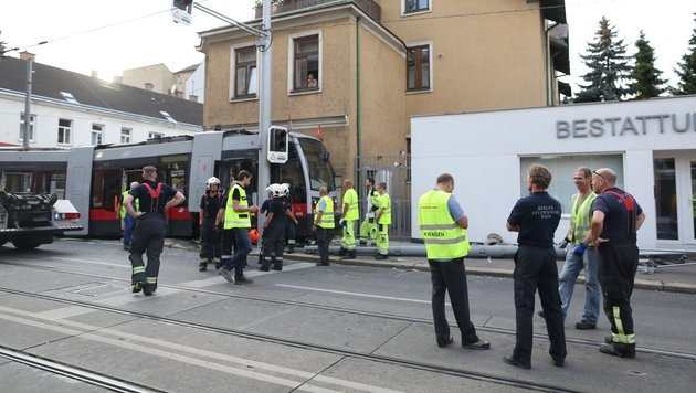 Straßenbahnfahrer raste mit 45 km/h in Kurve (Bild: Gerhard Bartel)