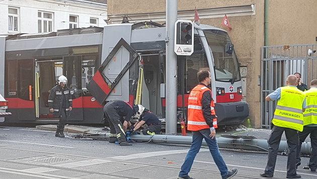 Straßenbahnfahrer raste mit 45 km/h in Kurve (Bild: wienweit medien)