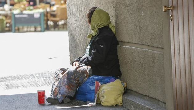 Armut in der Stadt (Bild: Markus Tschepp)