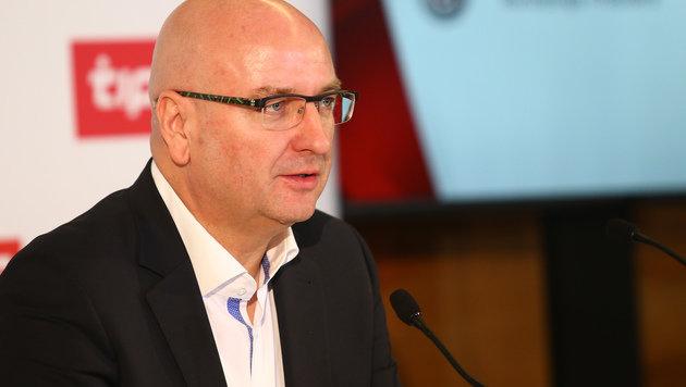 Bundesliga-Präsident Hans Rinner: Krebs (Bild: GEPA)