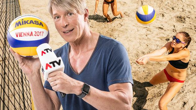 Dominic Heinzl feiert Comeback bei ATV! (Bild: ERNST KAINERSTORFER, thinkstockphotos.de, krone.at-Grafik)