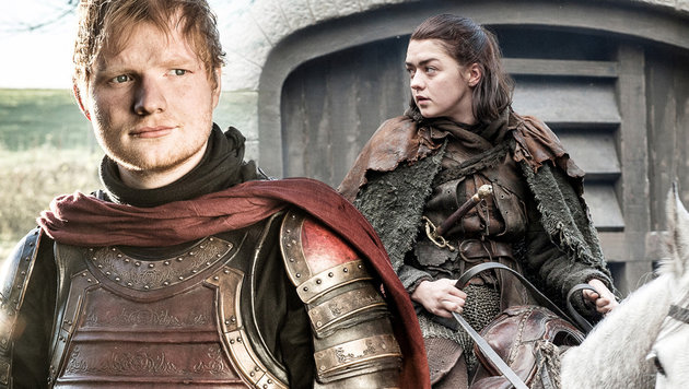 """Game of Thrones"":  Ed Sheeran entzweit die Fans (Bild: Sky, HBO, krone.at-Grafik)"