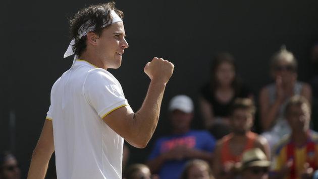 Thiem Weltranglisten-Siebenter und im Race Dritter (Bild: AFP)