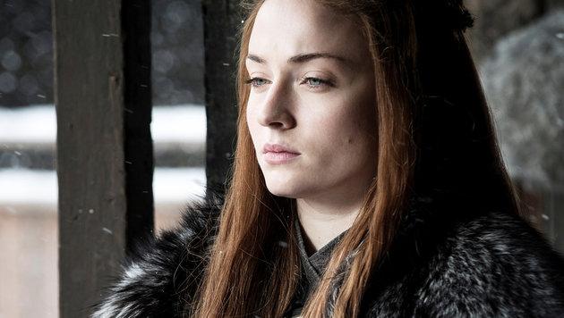 Sophie Turner als Sansa Stark (Bild: HELEN SLOAN / HBO)