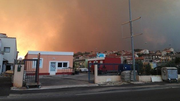 Kroatien: Feuer am Stadtrand von Split gestoppt (Bild: Gerald W.)