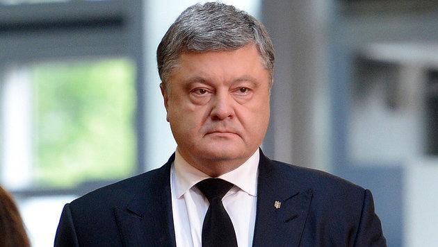 Präsident Petro Poroschenko (Bild: AFP)