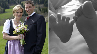 Marlies & Benjamin Raich: Das 2. Baby ist da! (Bild: APA/PRIVAT/UNBEKANNT, Facebook.com/MarliesRaich)