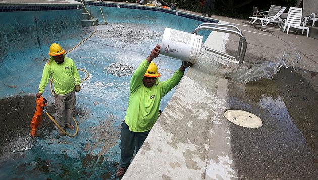 Saisonarbeiter in Kalifornien (Bild: AFP/Getty Images)