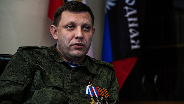 Separatistenführer Alexander Sachartschenko (Bild: AFP)