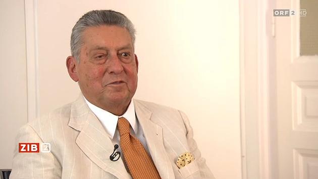 Helmut Elsner im ORF-Interview (Bild: ORF)