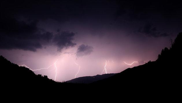 Blitzeinschläge brachten ein Kletterpaar aus Oberösterreich in größte Gefahr (Bild: GERHARD SCHIEL)