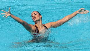 Vasiliki Alexandri ist WM-Achte in der Solo-Kür! (Bild: AFP)