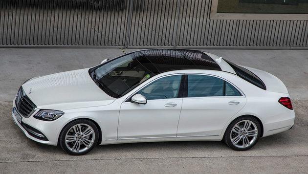 Die neue Mercedes-S-Klasse: Fackeln im Sturm (Bild: Daimler)