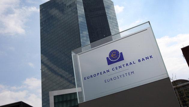 In Frankfurt am Main ist auch der Sitz der Europäischen Zentralbank. (Bild: AFP)