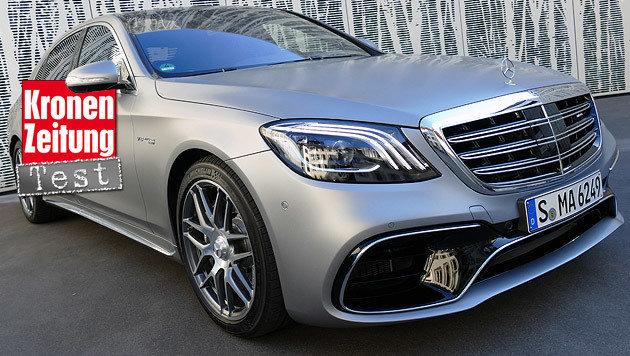 Mercedes-AMG S 63 (Bild: Stephan Schätzl)