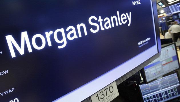 US-Bank Morgan Stanley zieht aus London weg (Bild: AP)