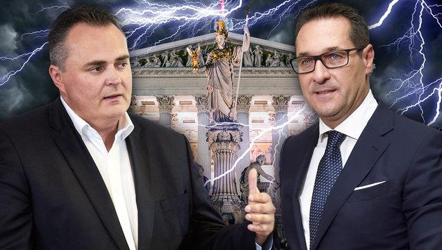 """Doskozil: """"Die FPÖ kann so kein Partner sein"""" (Bild: APA/HBF/PUSCH, APA/PARLAMENTSDIREKTION, thinkstockphotos.de)"""