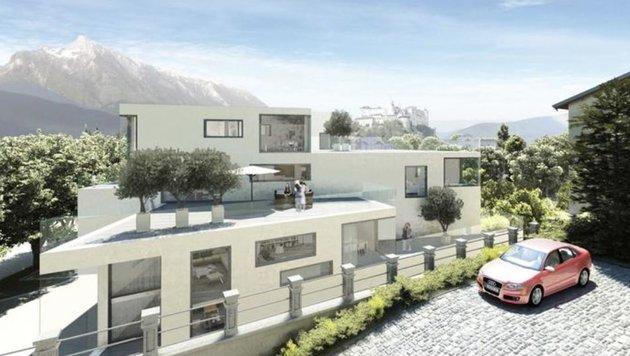 Visualisierung des Cassco-Projekts beim Unfallspital (Bild: City Life)