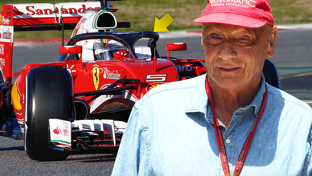 """Überreaktion!"" Lauda kritisiert Cockpitschutz (Bild: GEPA, AFP)"