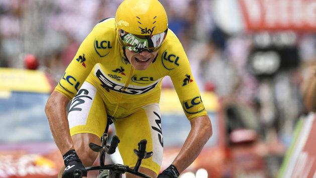 Froome hat Tour-de-France-Sieg so gut wie fix! (Bild: AFP or licensors)
