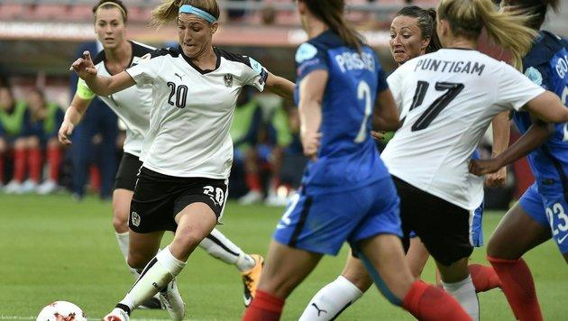Genial! ÖFB-Frauen erobern 1:1 gegen Frankreich (Bild: APA/HANS PUNZ)