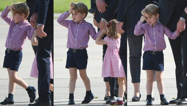 Happy Birthday: Prinz George feiert 4. Geburtstag (Bild: AFP)