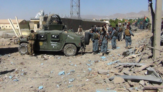 Kämpfe in Afghanistan (Bild: AFP)