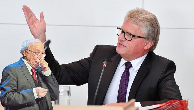 Klaus Luger verurteilt Josef Ackerls (l.) Wut-Postings und fordert eine Entschuldigung. (Bild: Harald Dostal, Markus Wenzel)