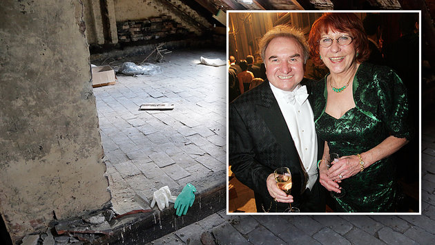 Ehefrau von Promi-Schneider lag tot auf Dachboden (Bild: Klemens Groh, Peter Tomschi)