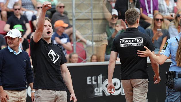 Tennis-Flitzer sorgt für Nazi-Eklat in Schweden (Bild: AP)