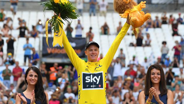 Triumph! Chris Froome gewinnt die Tour de France (Bild: GEPA)