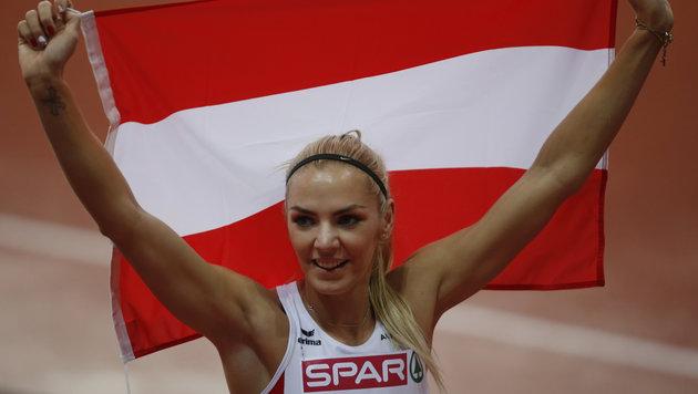 Ivona Dadic holte im Vorjahr EM-Silber im Siebenkampf. (Bild: AP/D.Vojinovic)