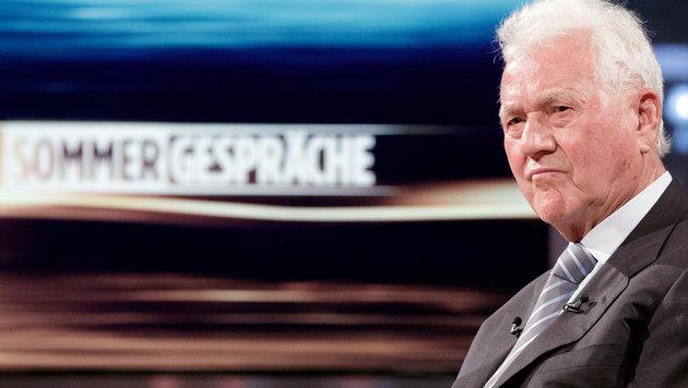 """Frank Stronach pfeift auf das """"Sommergespräch"""" (Bild: APA/GEORG HOCHMUTH)"""