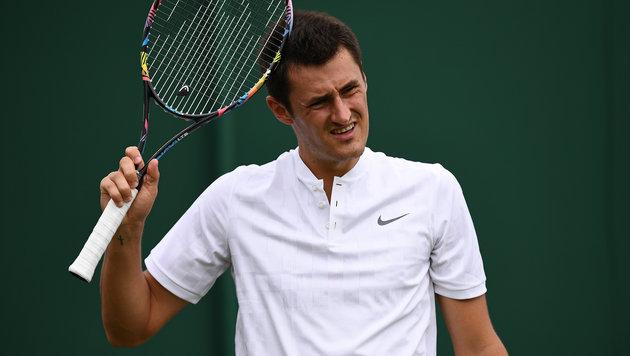 Tennis-Rüpel Tomic spielt nur wegen der Kohle (Bild: AFP)