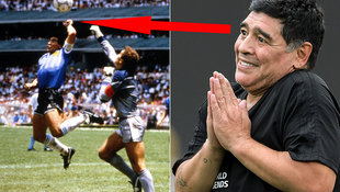Hand-Gottes-Sünder Maradona ist für Videobeweis! (Bild: GEPA, AFP)