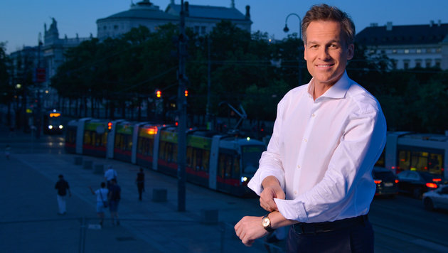 """Tarek Leitner moderiert heuer die ORF-""""Sommergespräche"""". (Bild: ORF)"""