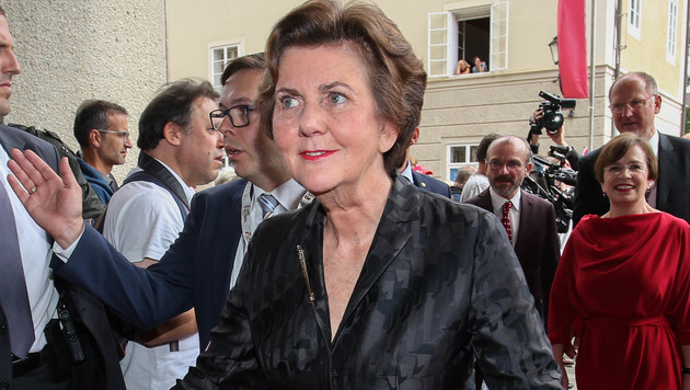 """Festspielpräsidentin Helga Rabl-Stadler startet ihren alljährlichen """"Marathon"""". (Bild: www.neumayr.cc)"""