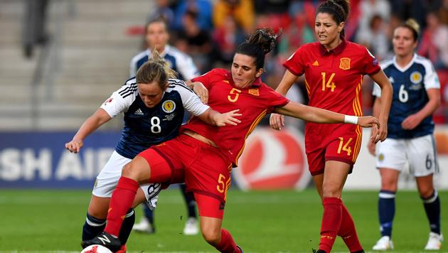 Spanien fordert die ÖFB-Mädels im Viertelfinale (Bild: GEPA)