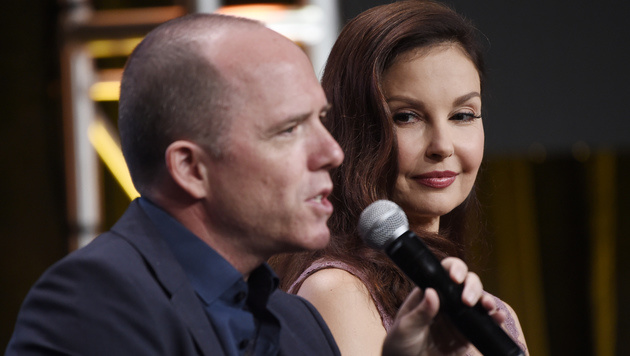 Ashley Judd mit Bradford Winters (Bild: 2017 Invision)